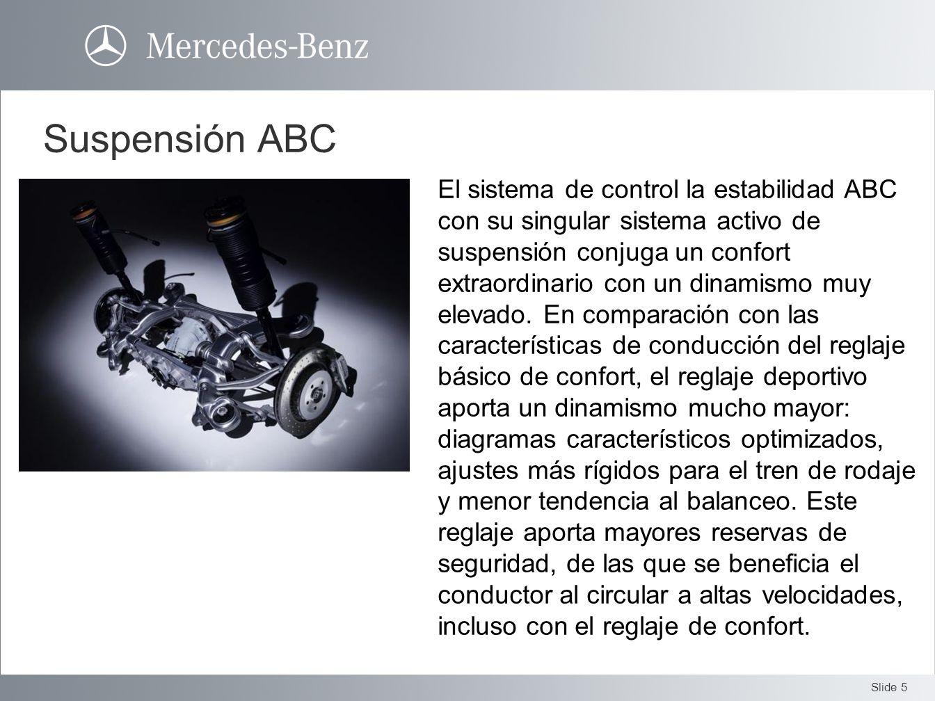 Suspensión ABC