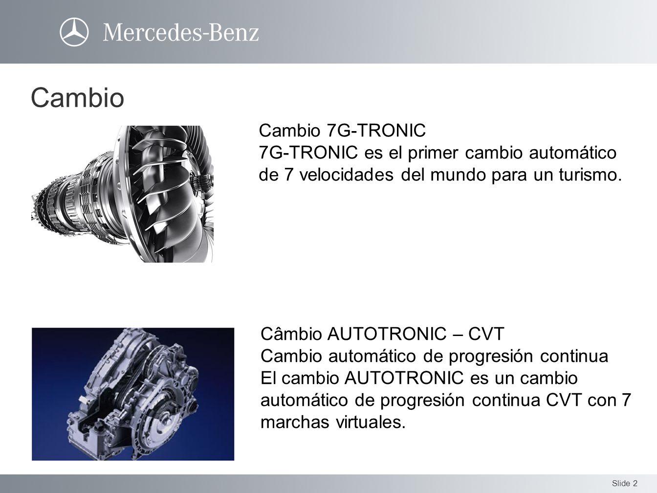 Cambio Cambio 7G-TRONIC