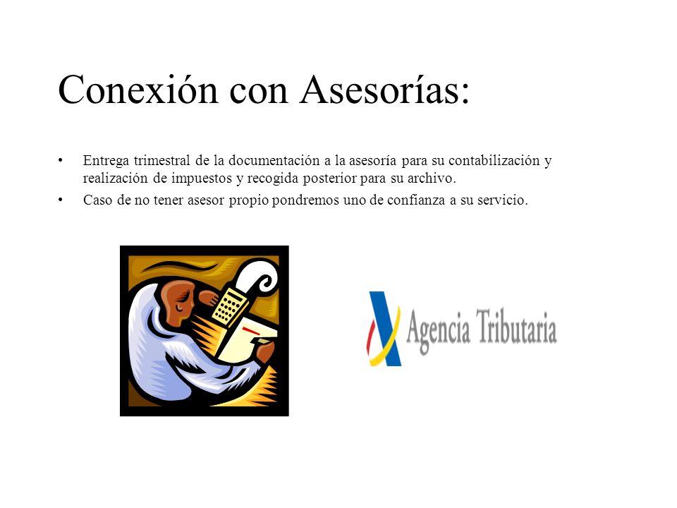 Conexión con Asesorías: