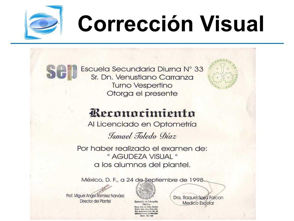 Corrección Visual