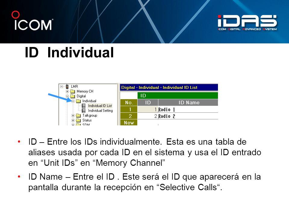 ID Individual