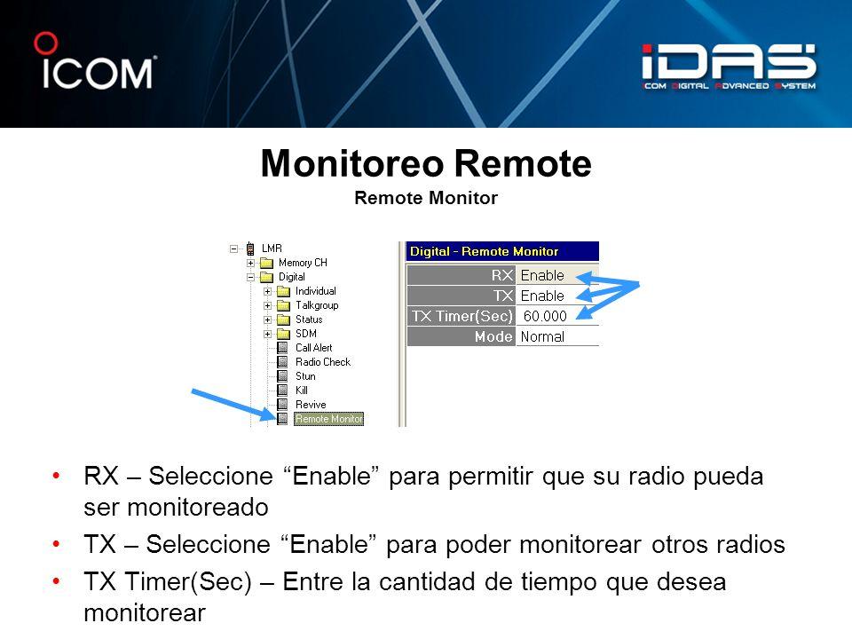 Monitoreo Remote Remote Monitor
