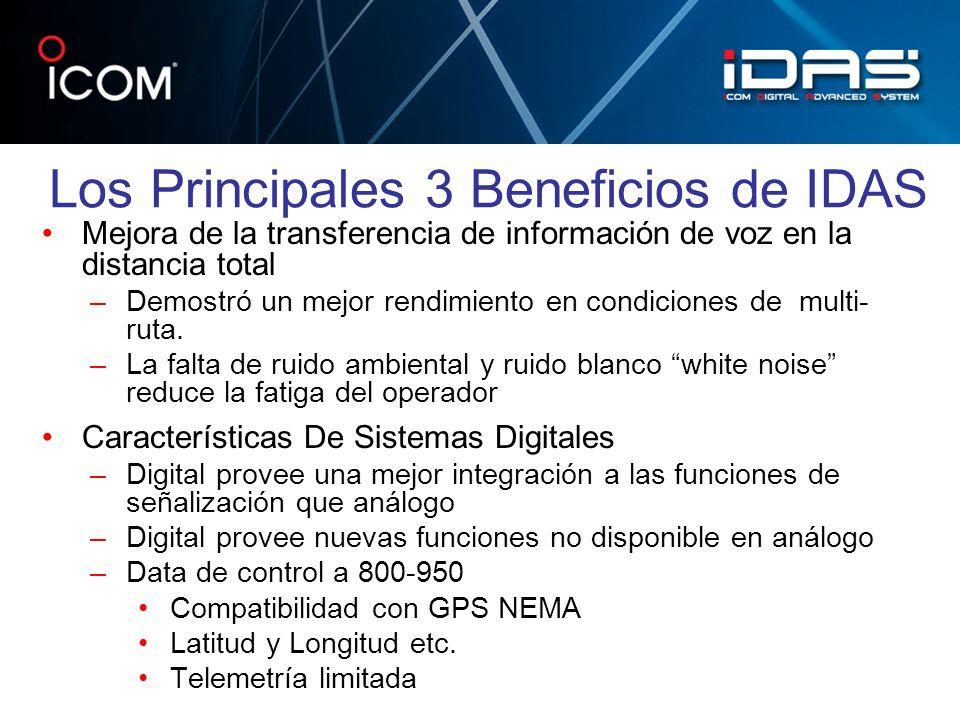 Los Principales 3 Beneficios de IDAS