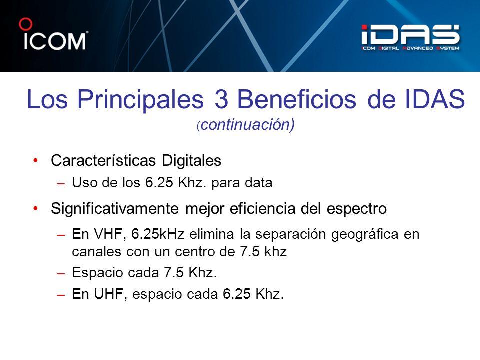Los Principales 3 Beneficios de IDAS (continuación)