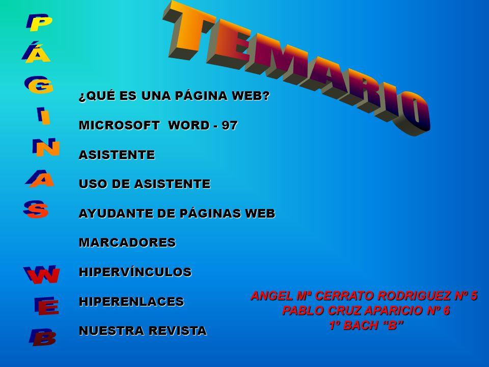 ANGEL Mª CERRATO RODRIGUEZ Nº 5