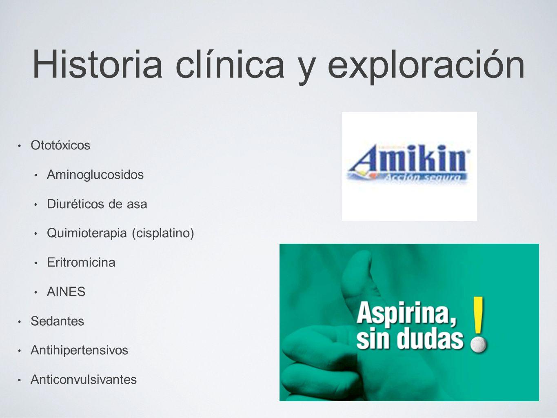 Historia clínica y exploración
