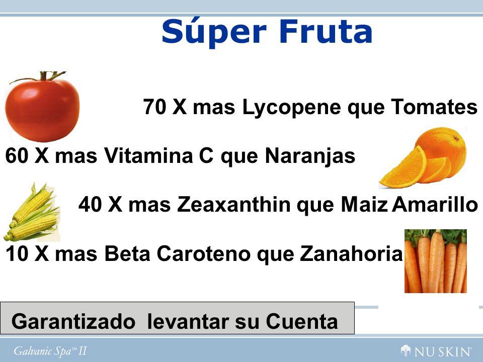 Súper Fruta 70 X mas Lycopene que Tomates