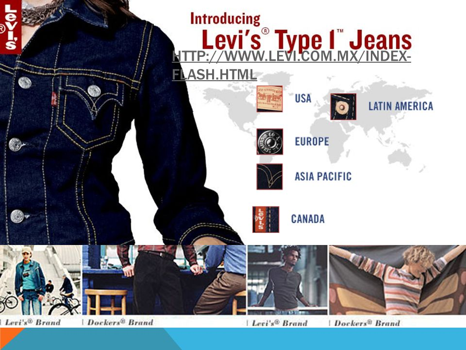 http://www.levi.com.mx/index-flash.html http://www.levi.com/