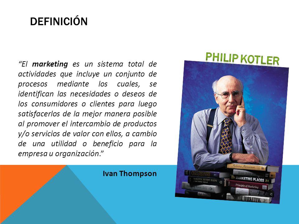 Definición Philip Kotler