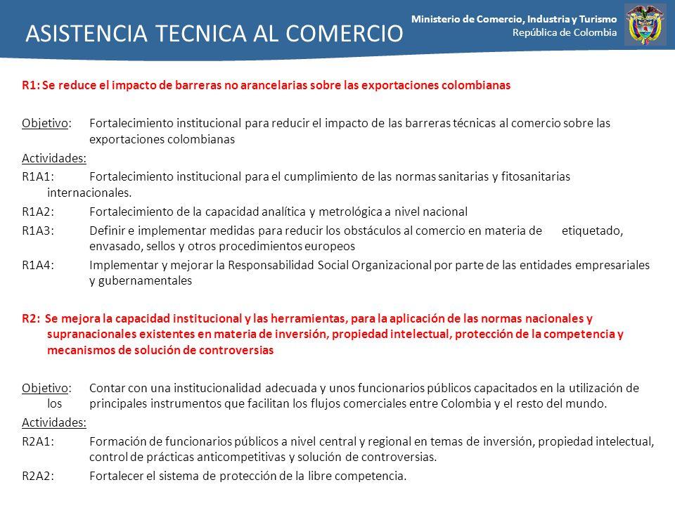 ASISTENCIA TECNICA AL COMERCIO