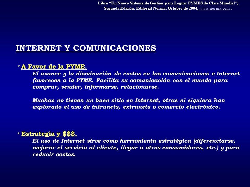 INTERNET Y COMUNICACIONES