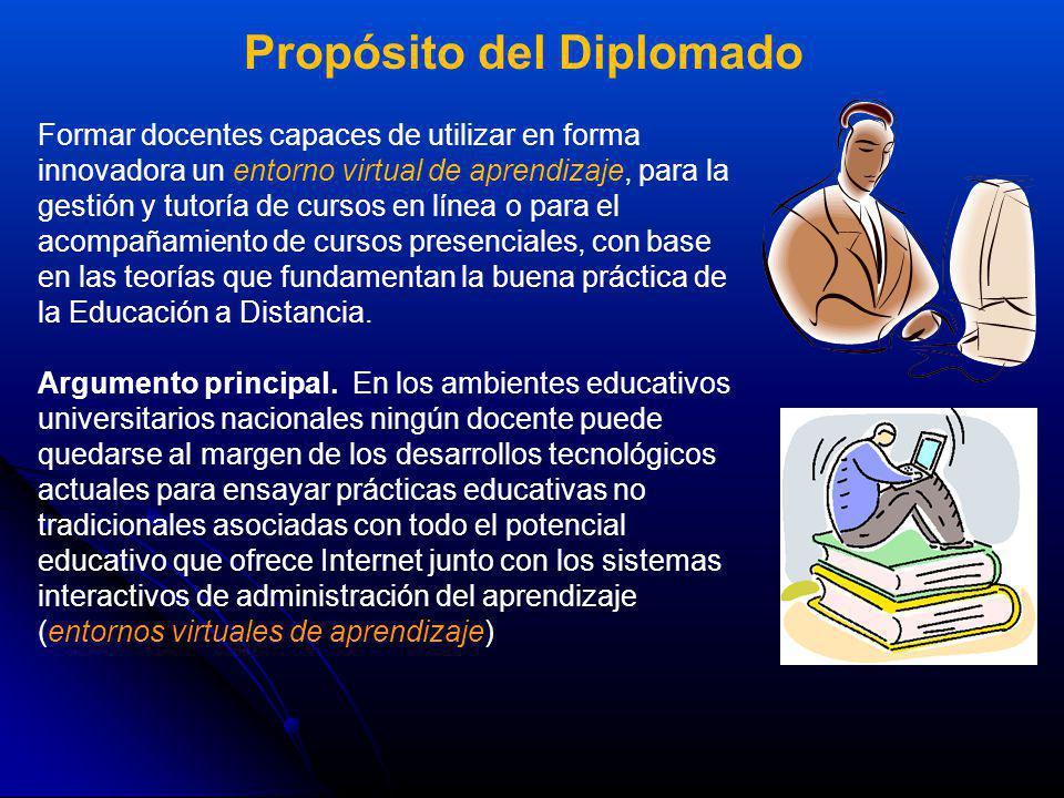 Propósito del Diplomado