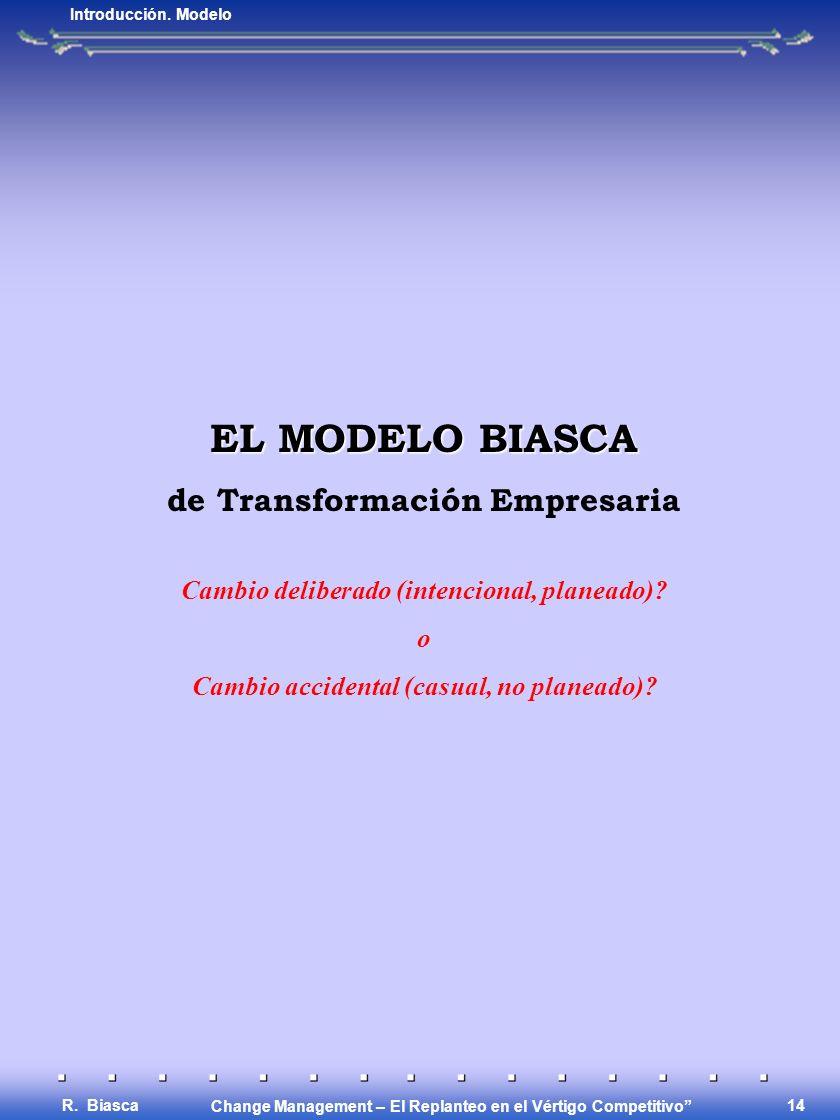 EL MODELO BIASCA de Transformación Empresaria