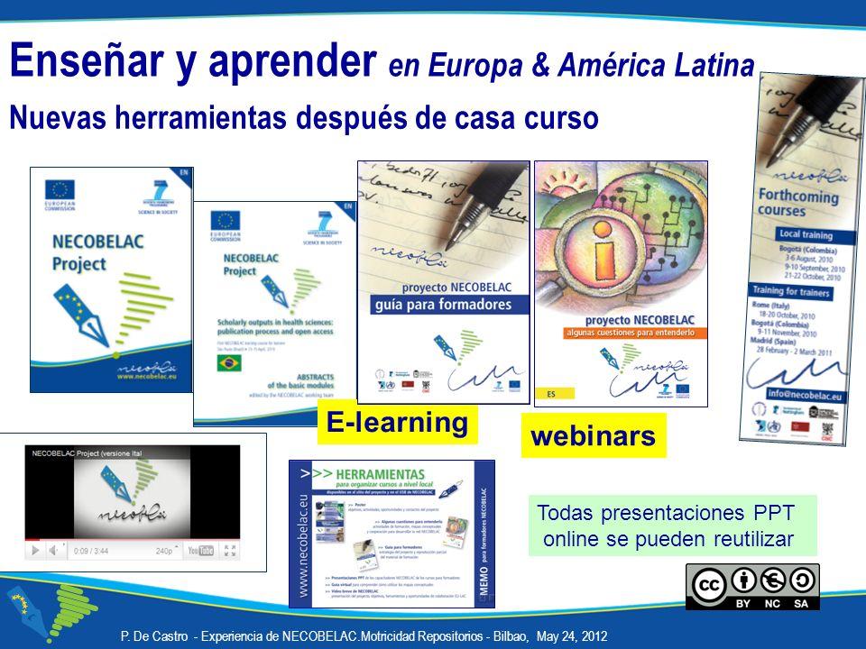 Enseñar y aprender en Europa & América Latina