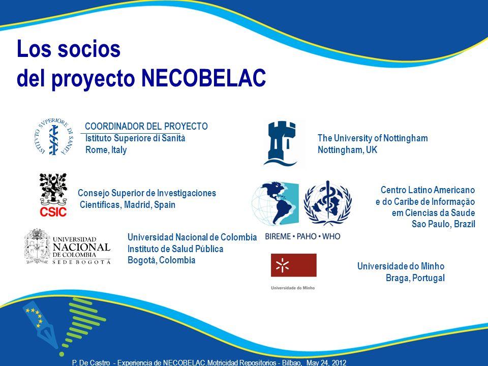 del proyecto NECOBELAC