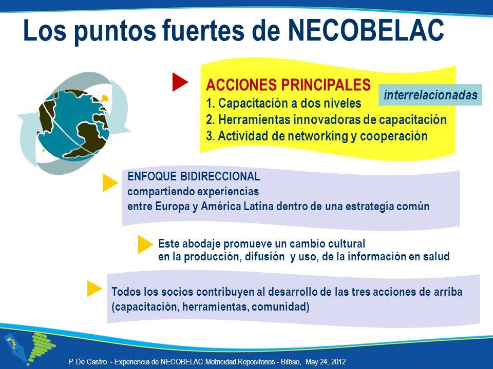 Los puntos fuertes de NECOBELAC
