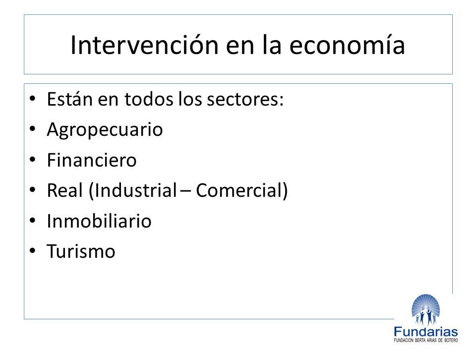 Intervención en la economía