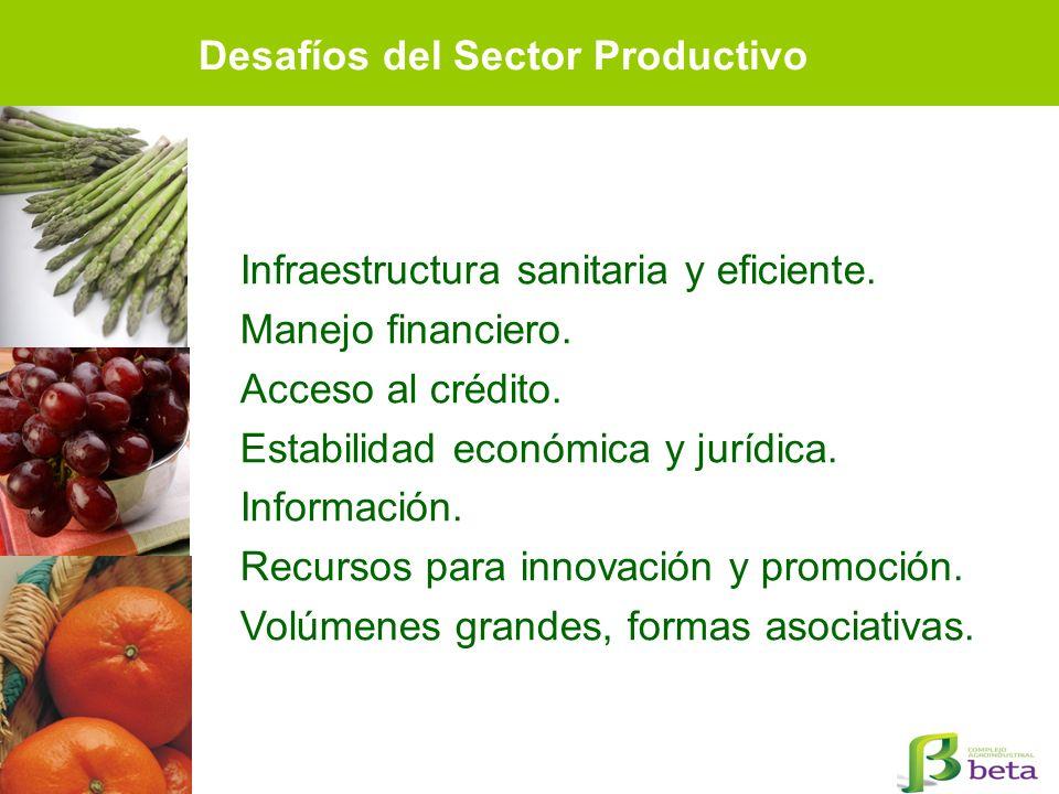 Desafíos del Sector Productivo
