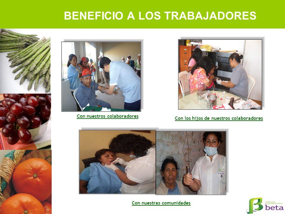 BENEFICIO A LOS TRABAJADORES