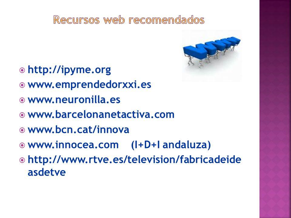 Recursos web recomendados