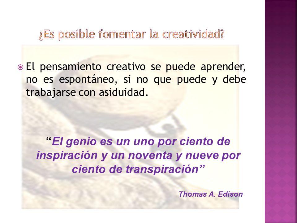 ¿Es posible fomentar la creatividad