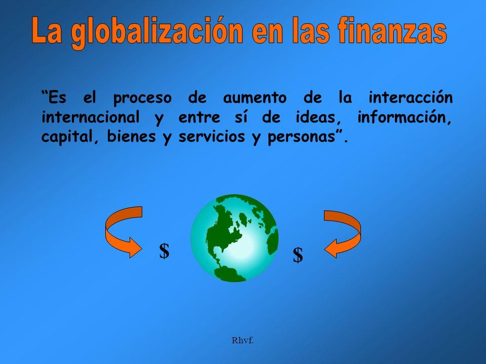 La globalización en las finanzas