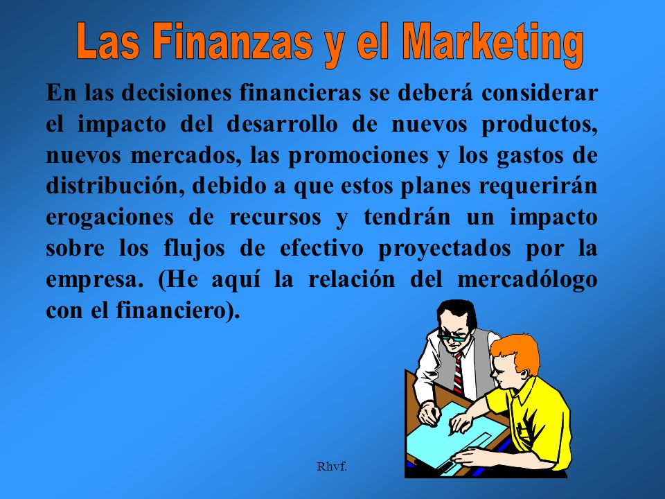 Las Finanzas y el Marketing