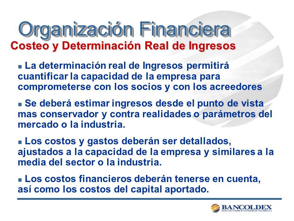 Organización Financiera