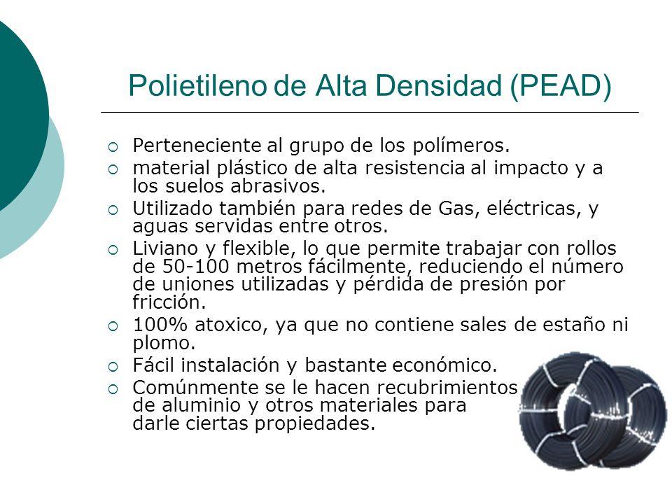 Polietileno de Alta Densidad (PEAD)