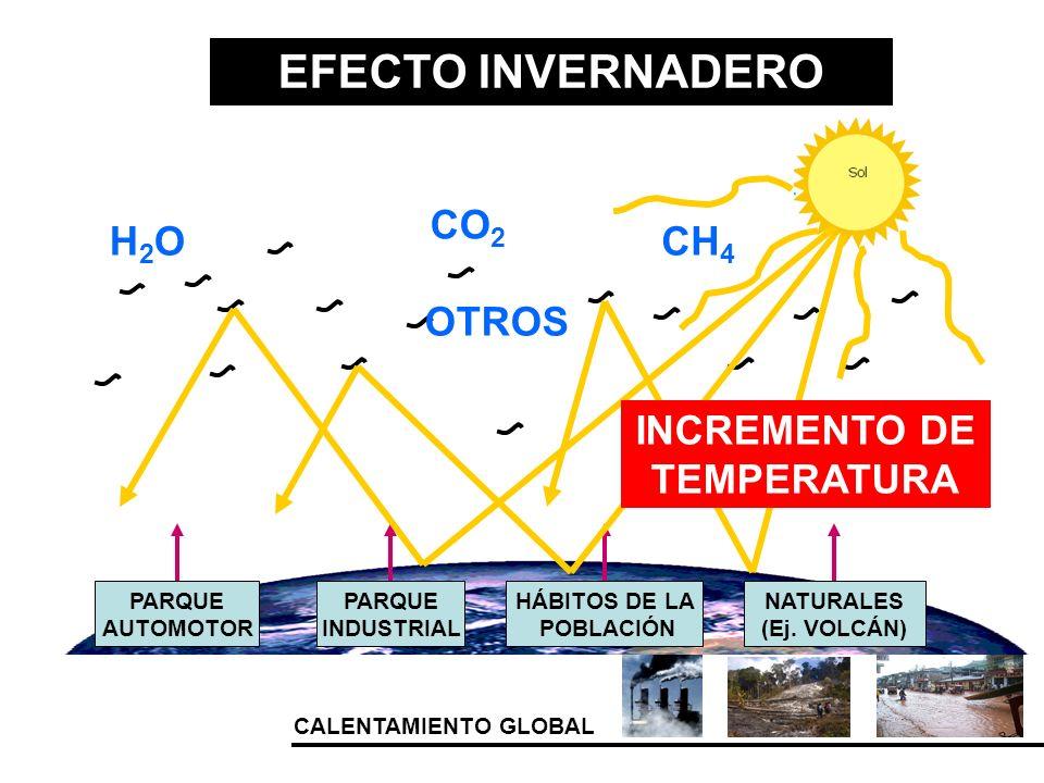 INCREMENTO DE TEMPERATURA