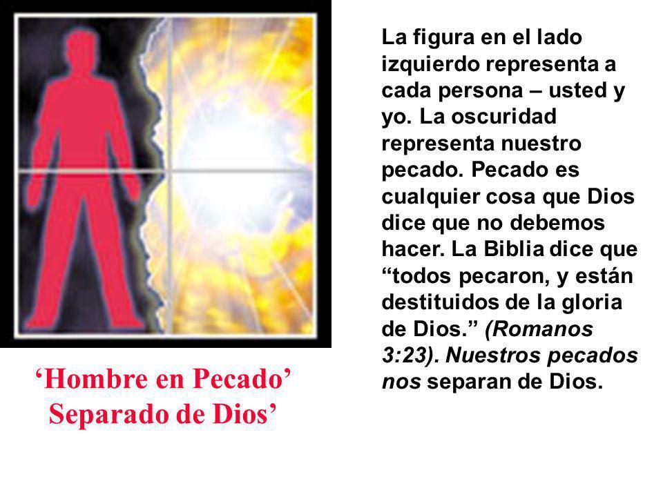 'Hombre en Pecado' Separado de Dios'