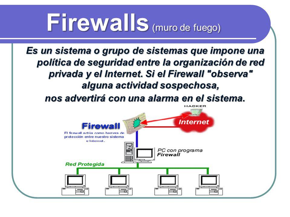 Firewalls (muro de fuego)
