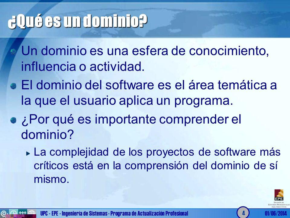 ¿Qué es un dominio Un dominio es una esfera de conocimiento, influencia o actividad.