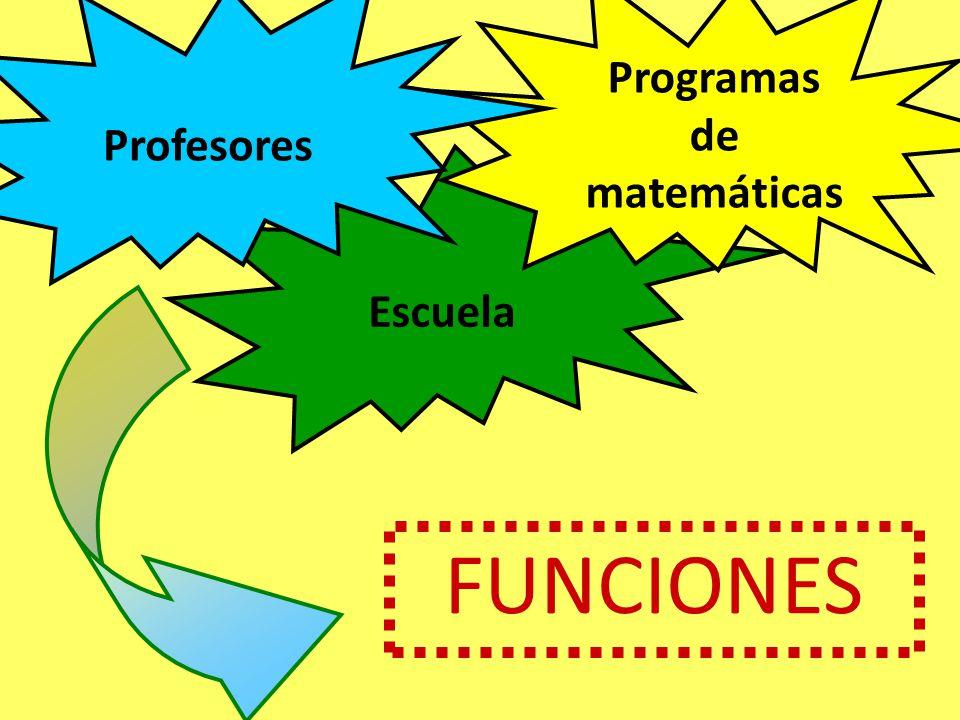 Programas de matemáticas
