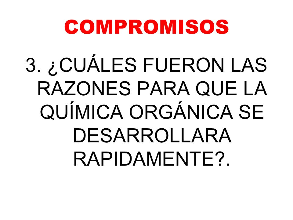 COMPROMISOS 3.