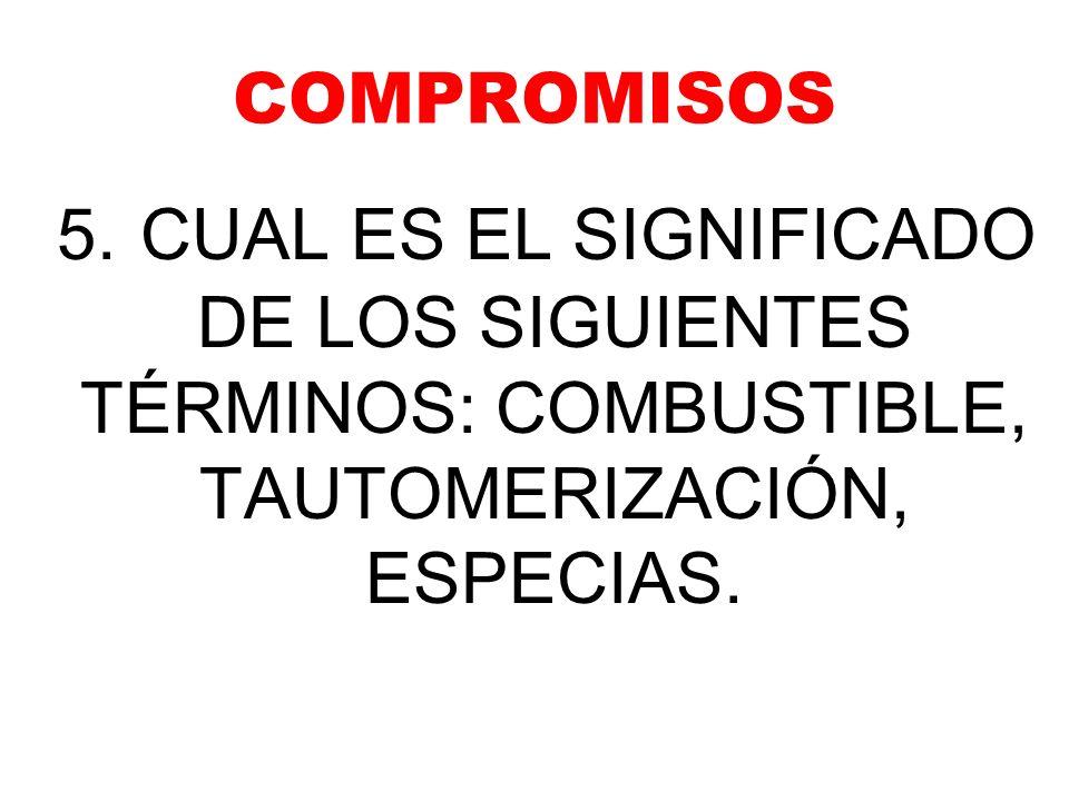 COMPROMISOS 5.