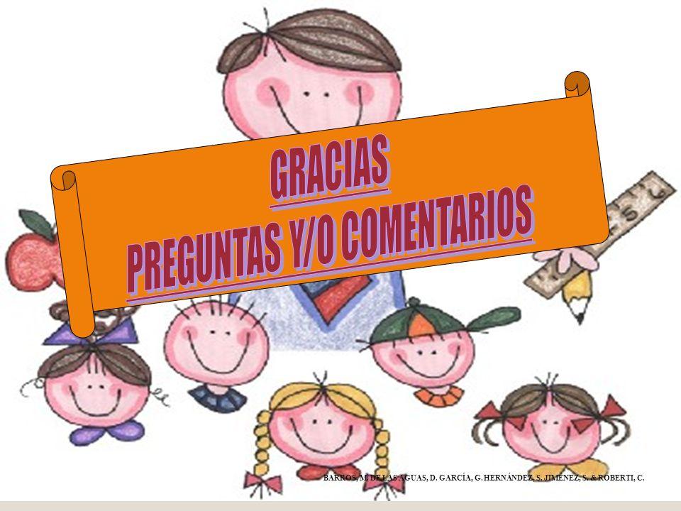 PREGUNTAS Y/O COMENTARIOS