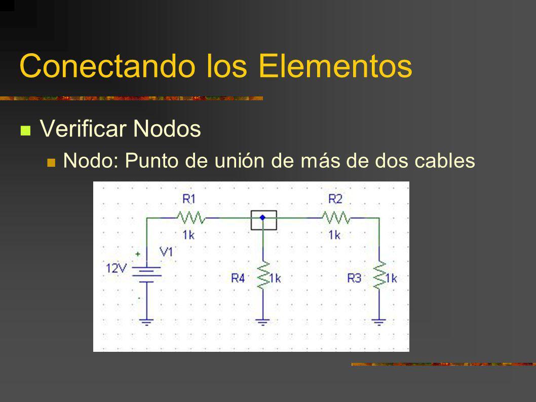 Conectando los Elementos