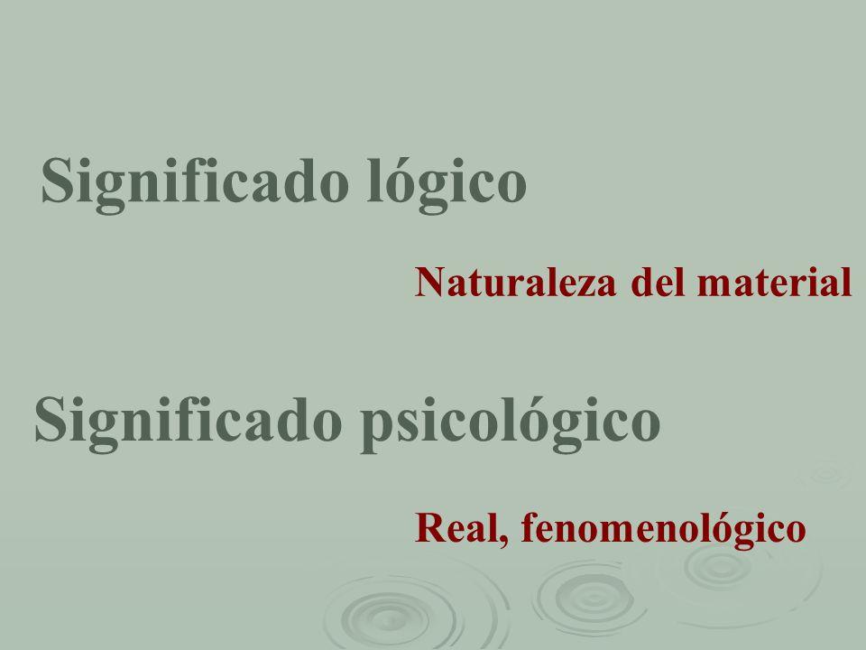 Significado psicológico