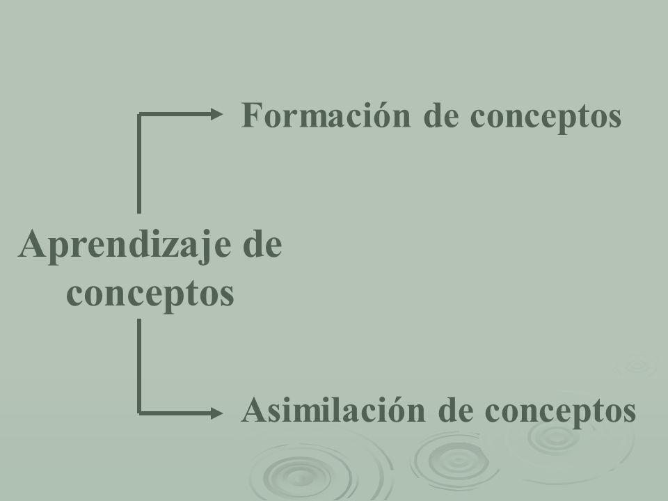 Aprendizaje de conceptos