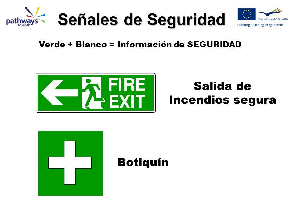 Salida de Incendios segura