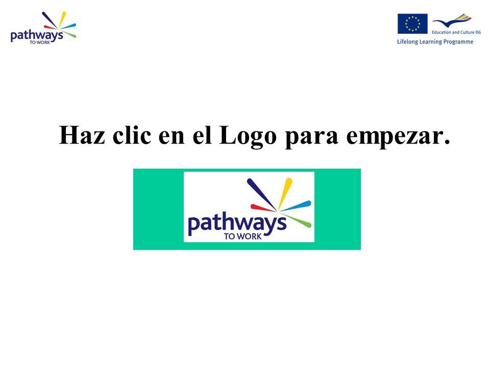 Haz clic en el Logo para empezar.