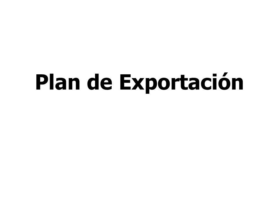 Plan de Exportación Mag. Jyns Ordoñez Torres