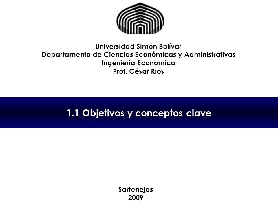 1.1 Objetivos y conceptos clave