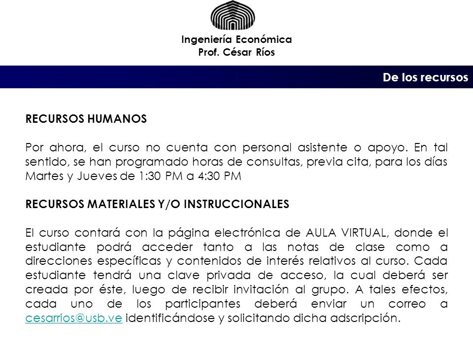 RECURSOS MATERIALES Y/O INSTRUCCIONALES