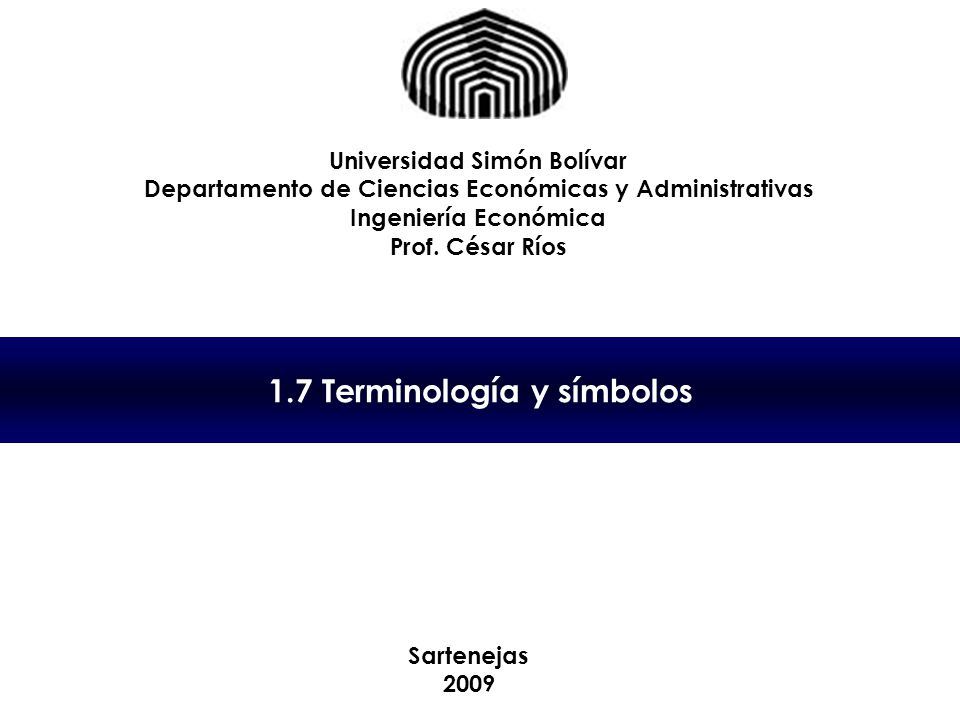1.7 Terminología y símbolos