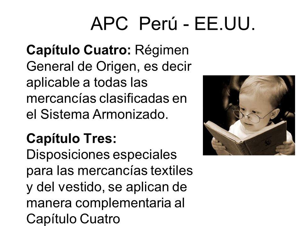 APC Perú - EE.UU.