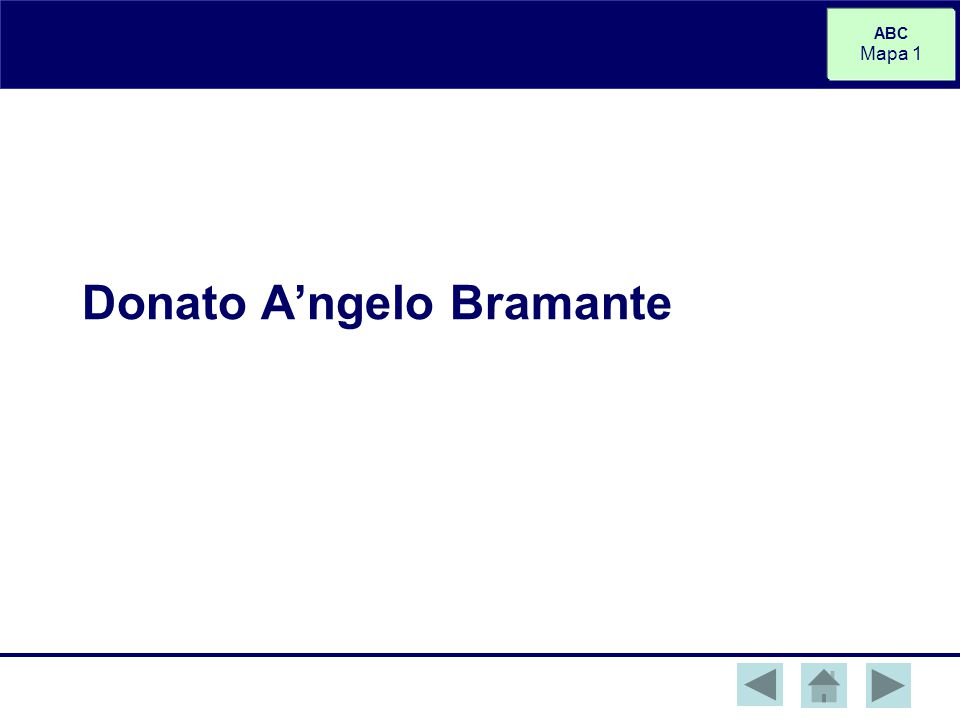 Donato A'ngelo Bramante