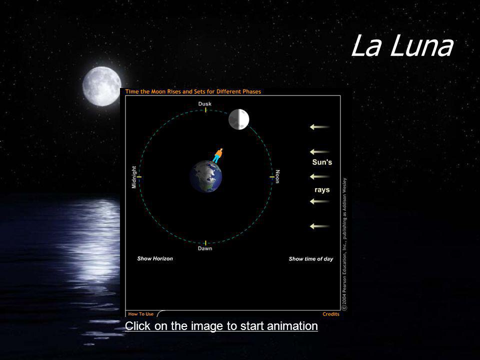 La Luna Click on the image to start animation