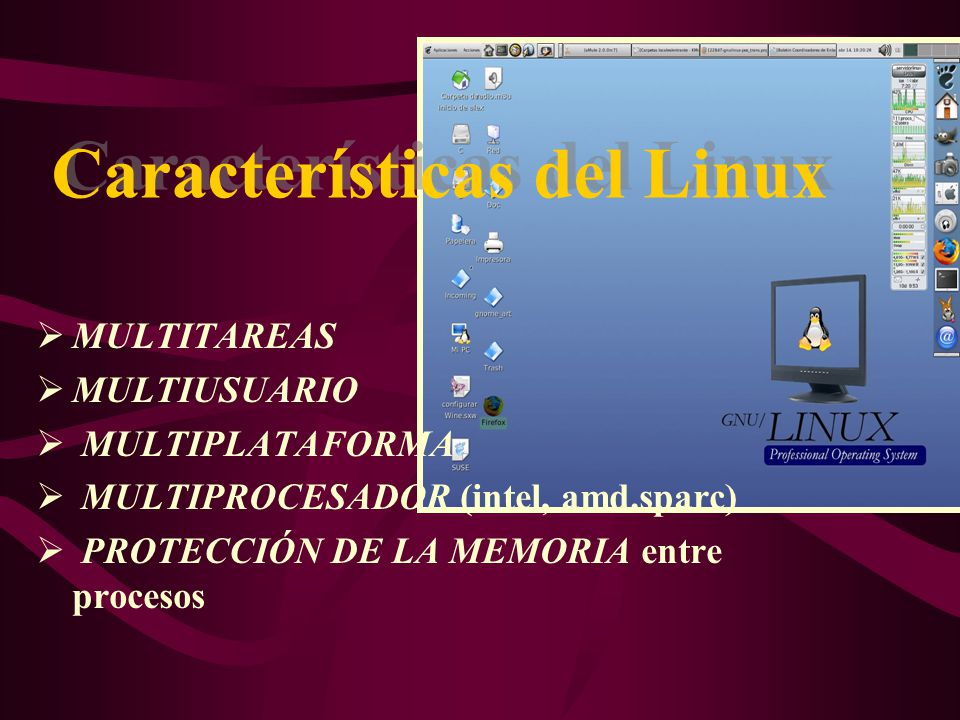 Características del Linux